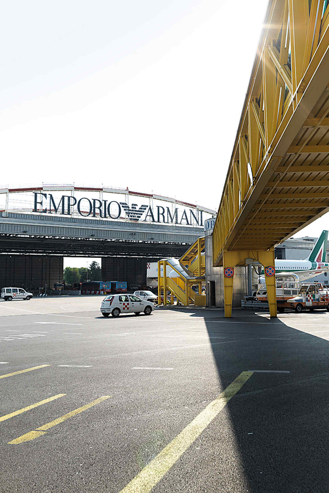 Linate airside