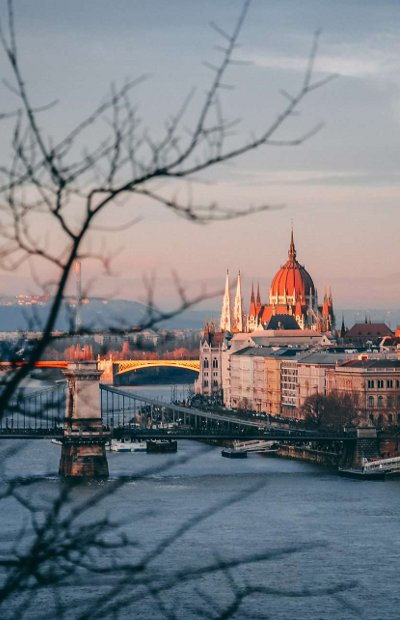 Budapest: Danube and Parliament