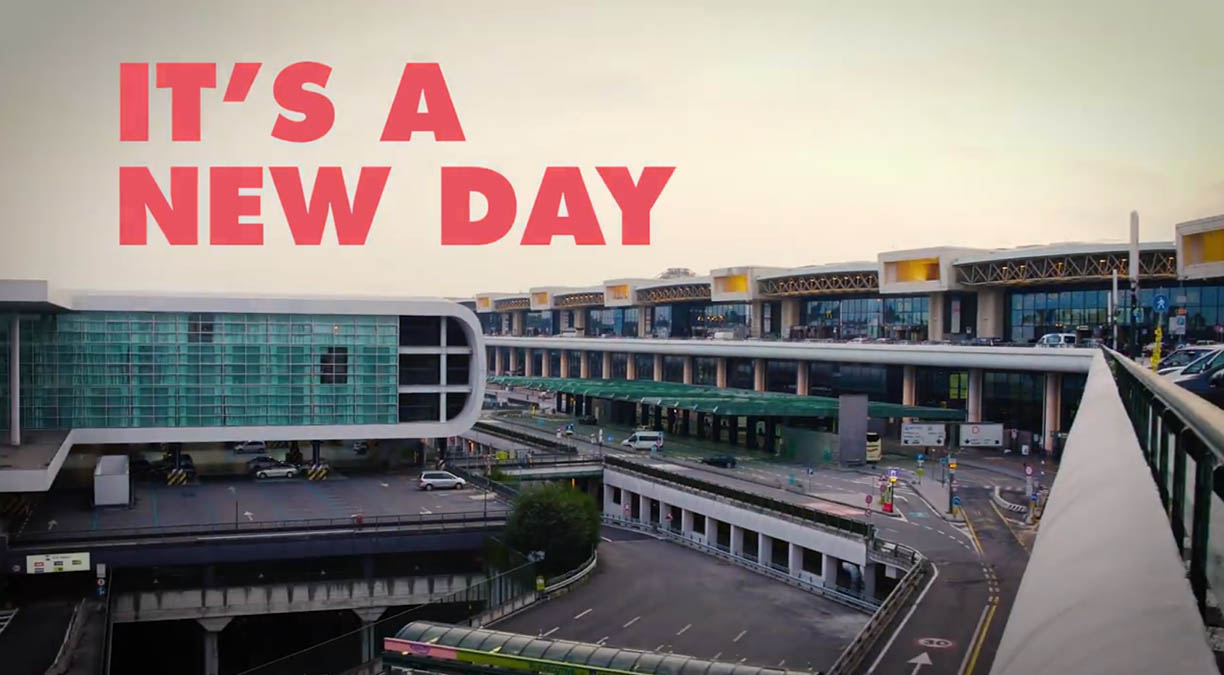 It is a new day in Malpensa