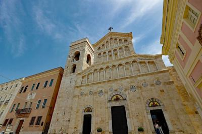 Cagliari. Saint Mary Cathedral